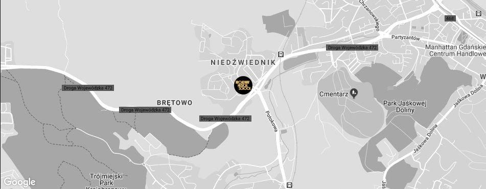 Broadway Musical School Trójmiasto - Gdańsk-Niedźwiednik mapa
