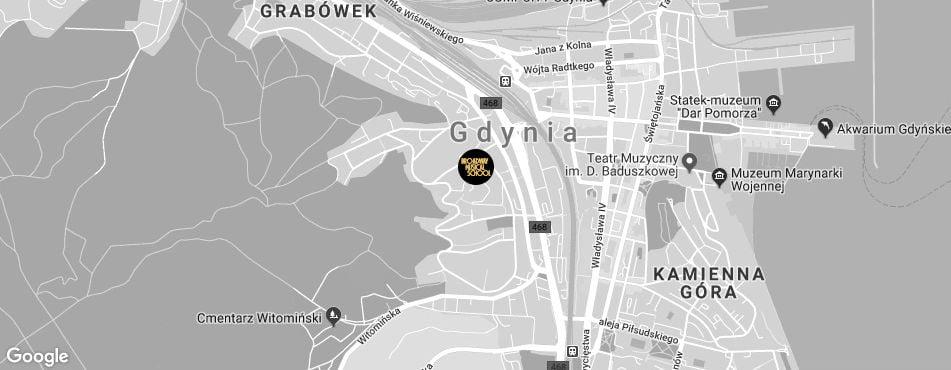 Broadway Musical School Trójmiasto - Gdynia-Działki Leśne mapa