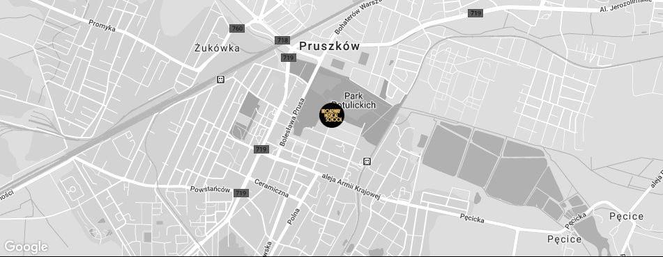Broadway Musical School Warszawa - Pruszków mapa