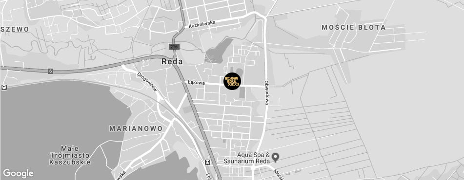 Broadway Musical School Trójmiasto - Reda mapa